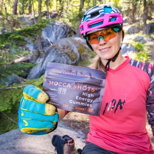 Mocca Shots mountain biker