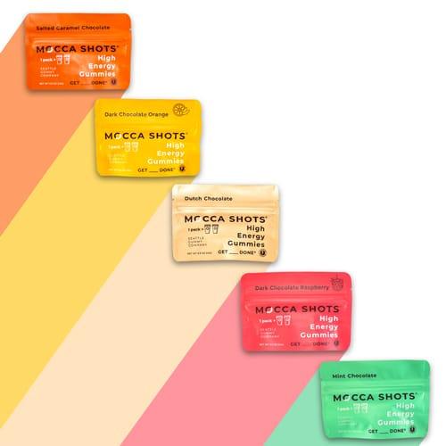 colorful array of mochashots